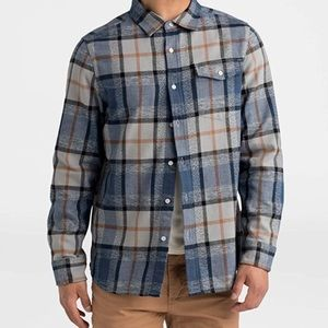 The North Face Flannel Shacket Button Up